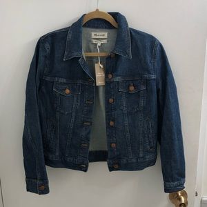 Madewell Classic Denim Jacket NWT